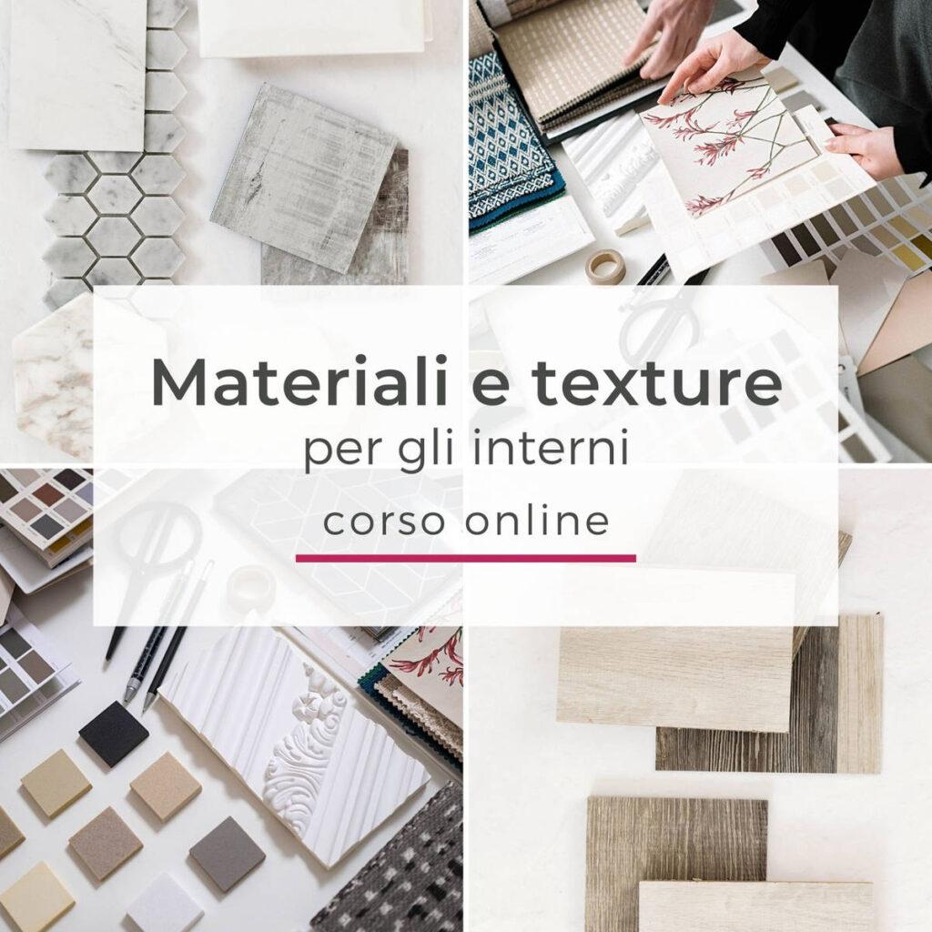 Corso materiali e texture